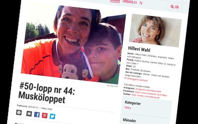 Hillevi Wahl sprang 50 lopp under 2015 – Musköloppet var ett av dem.