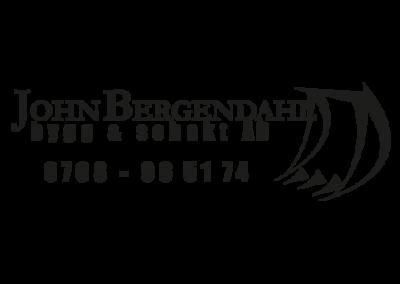 John Bergendahl Bygg & Schakt AB